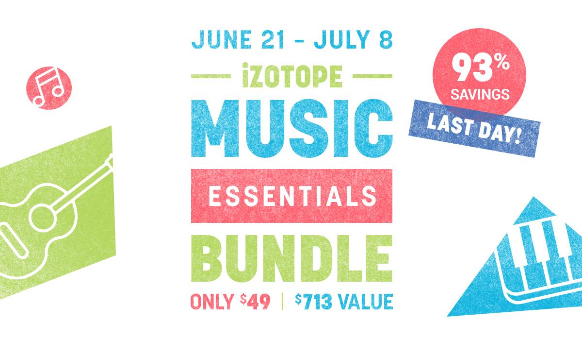 iZotope Music Essentials Bundle