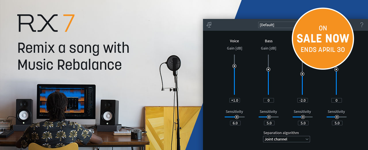 RX 7: Remix a song with Music Rebalance