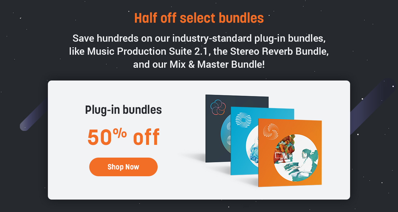 Half off select bundles