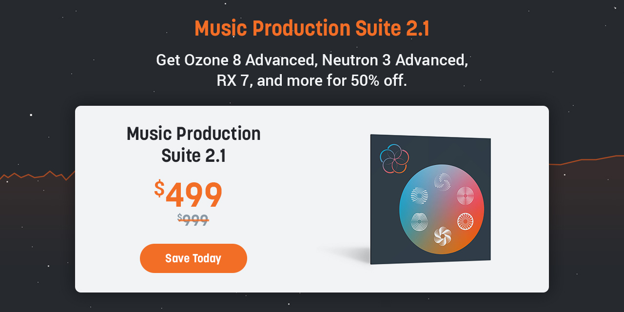 Music Production Suite 2.1 for $499