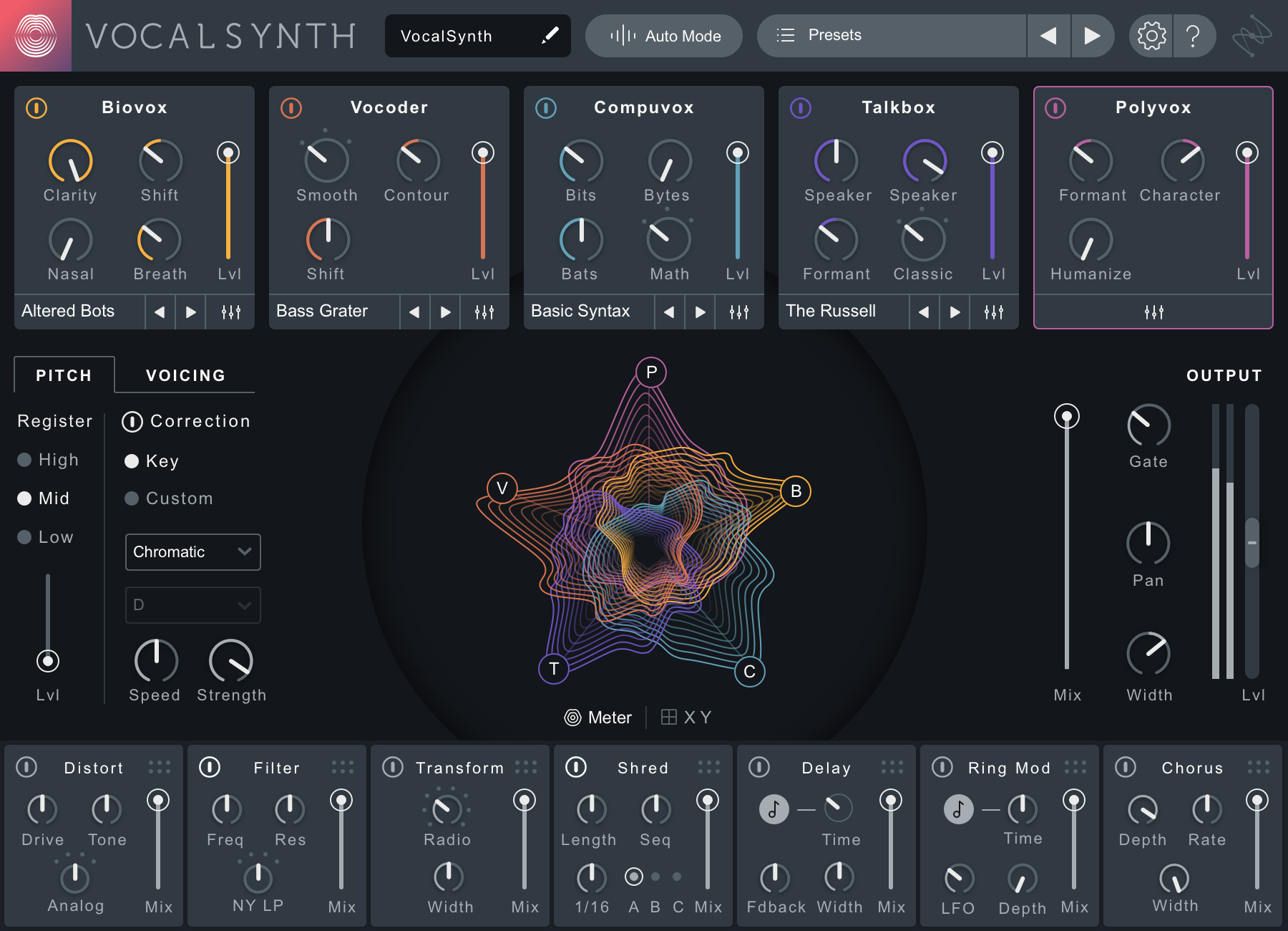 iZotope VocalSynth 2 Mac 破解版 人声合成效果器