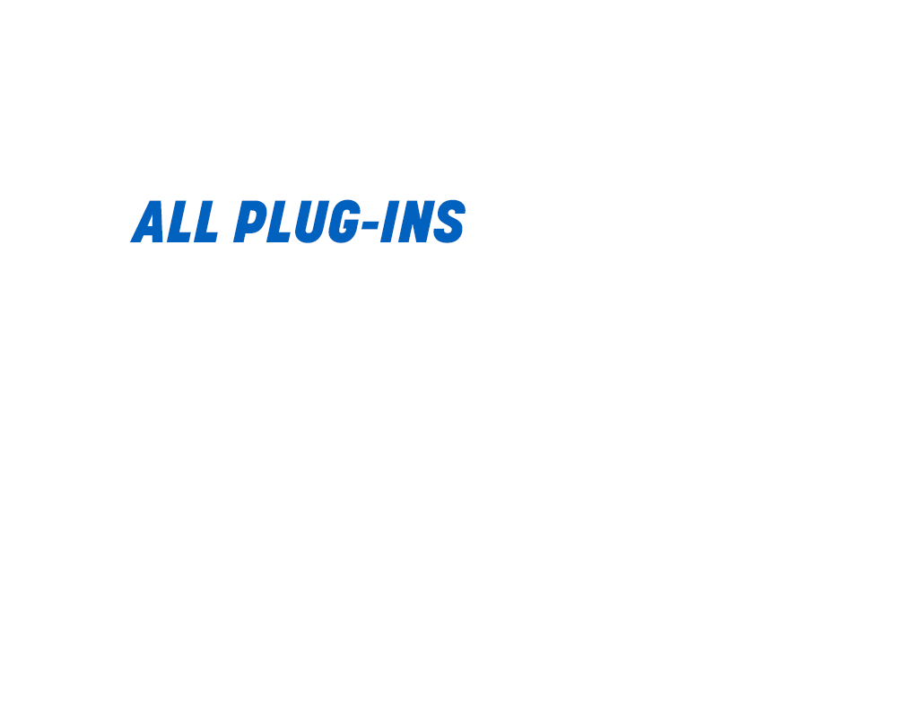 30 percent off all plug-ins