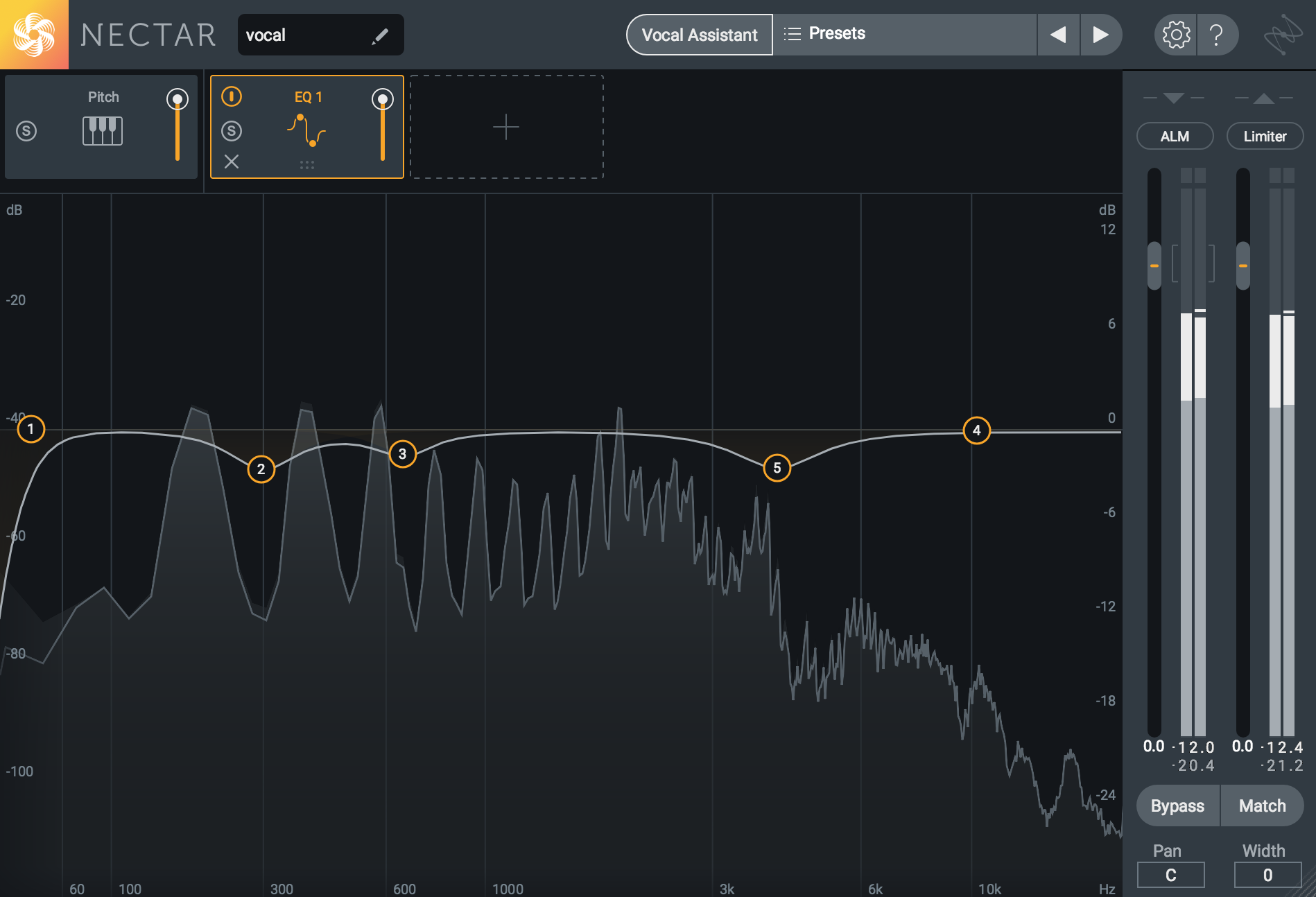 Automated Circuit Screenshot How To Eq Vocals 9 Steps For Eqing Lead Vox