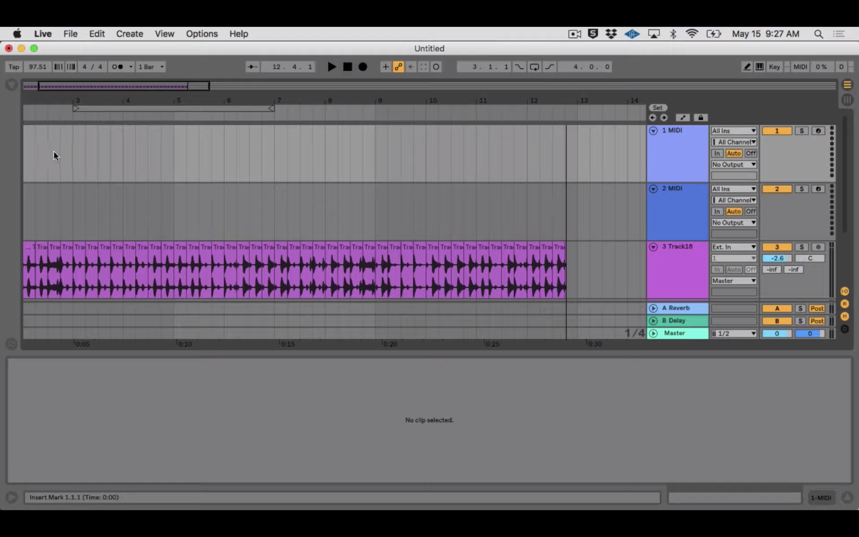 Collaborating with Your Computer Using Ableton Live, Part 1