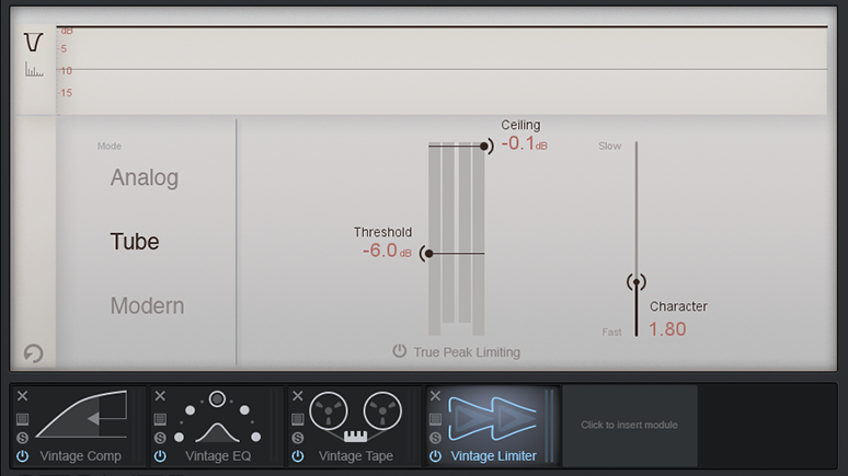 Vintage-inspired audio processing in Ozone 7 & Ozone 7 Advanced