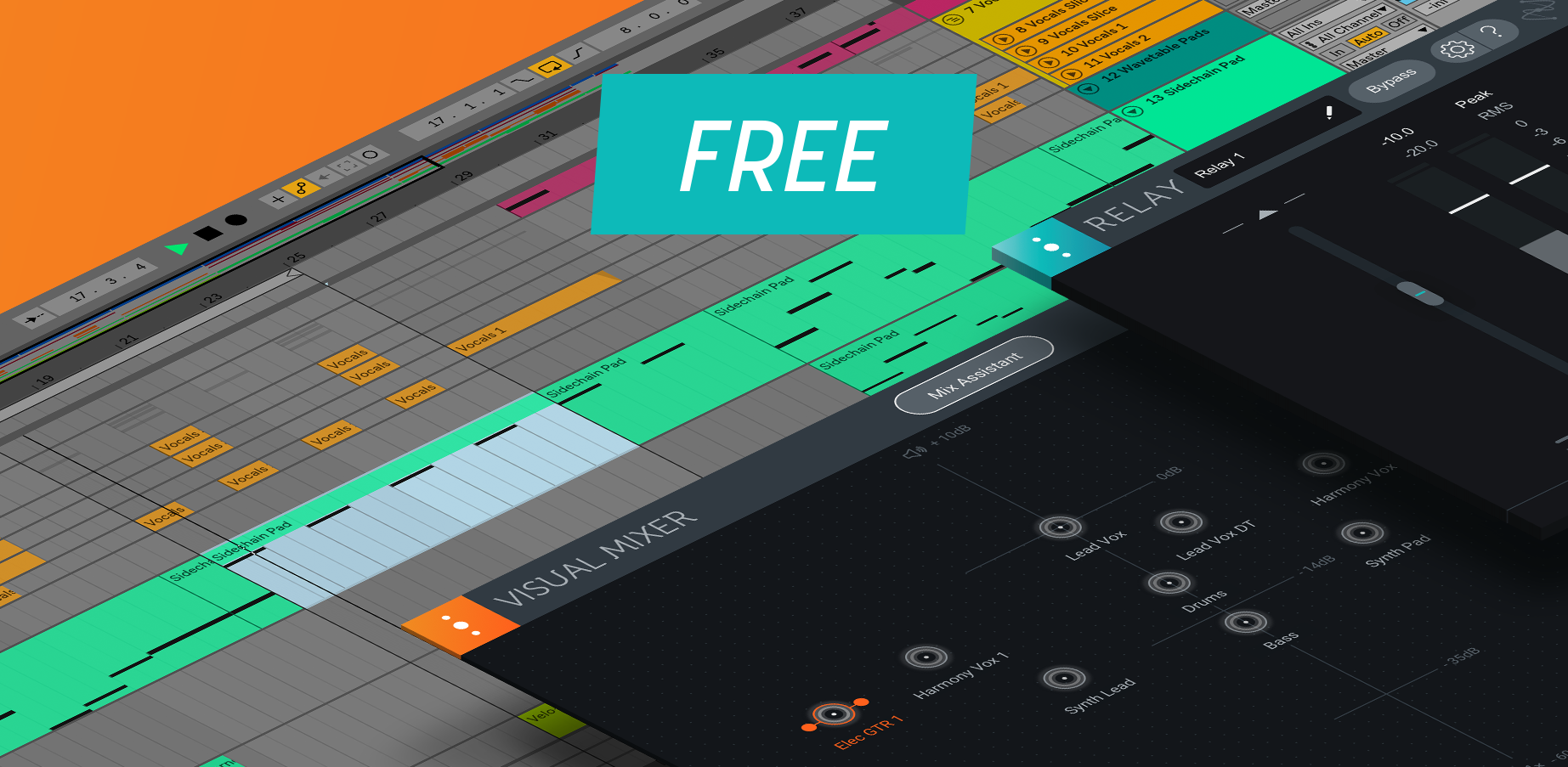 How to Get Visual Mixer and iZotope Relay for FREE!