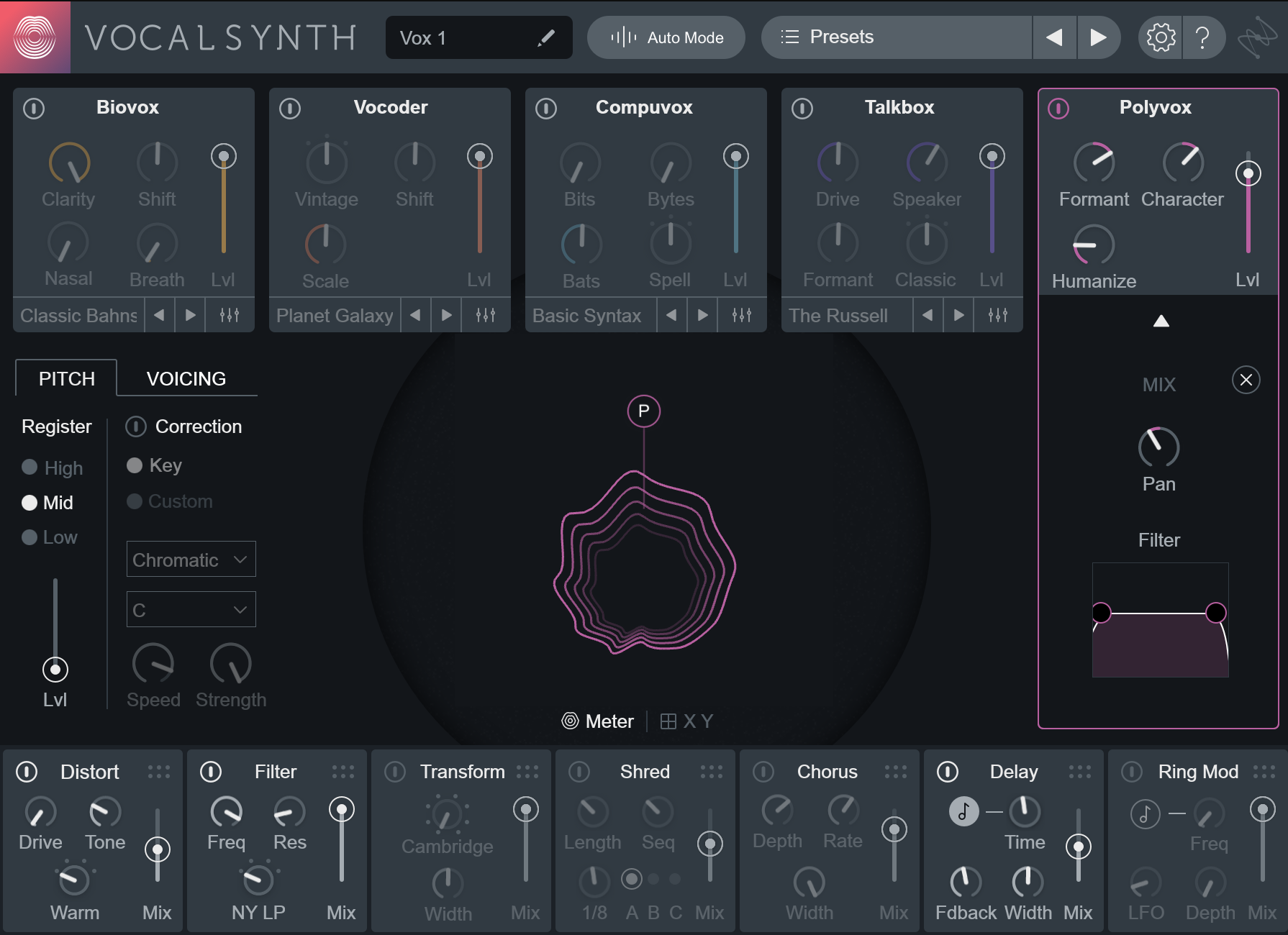 Using VocalSynth 2 on Different Instruments
