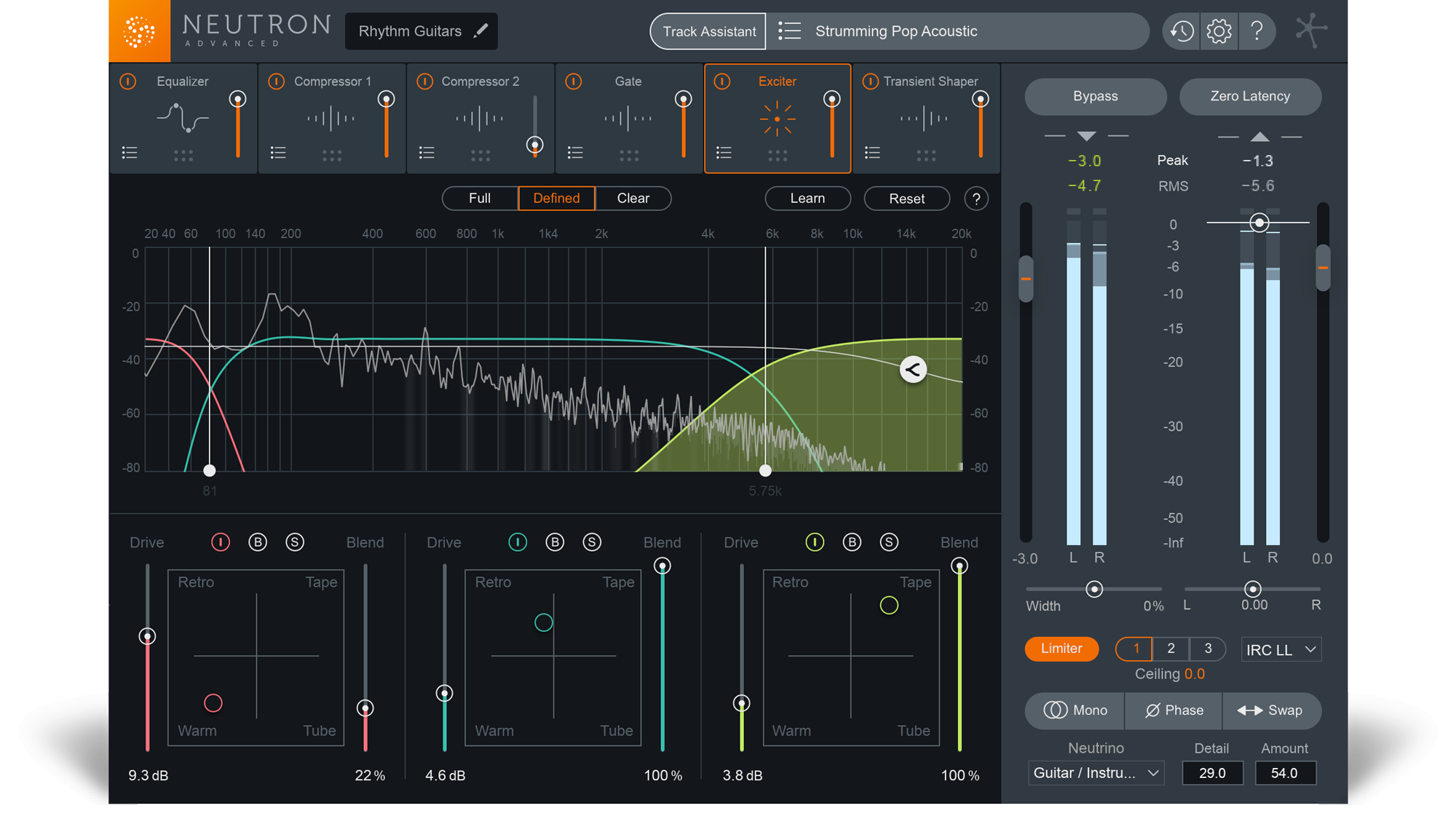 Neutron 2 A Smarter Way To Mix Izotope Audio Mixing Tools Attempting Add Three Switch Electrical Diy Chatroom Home