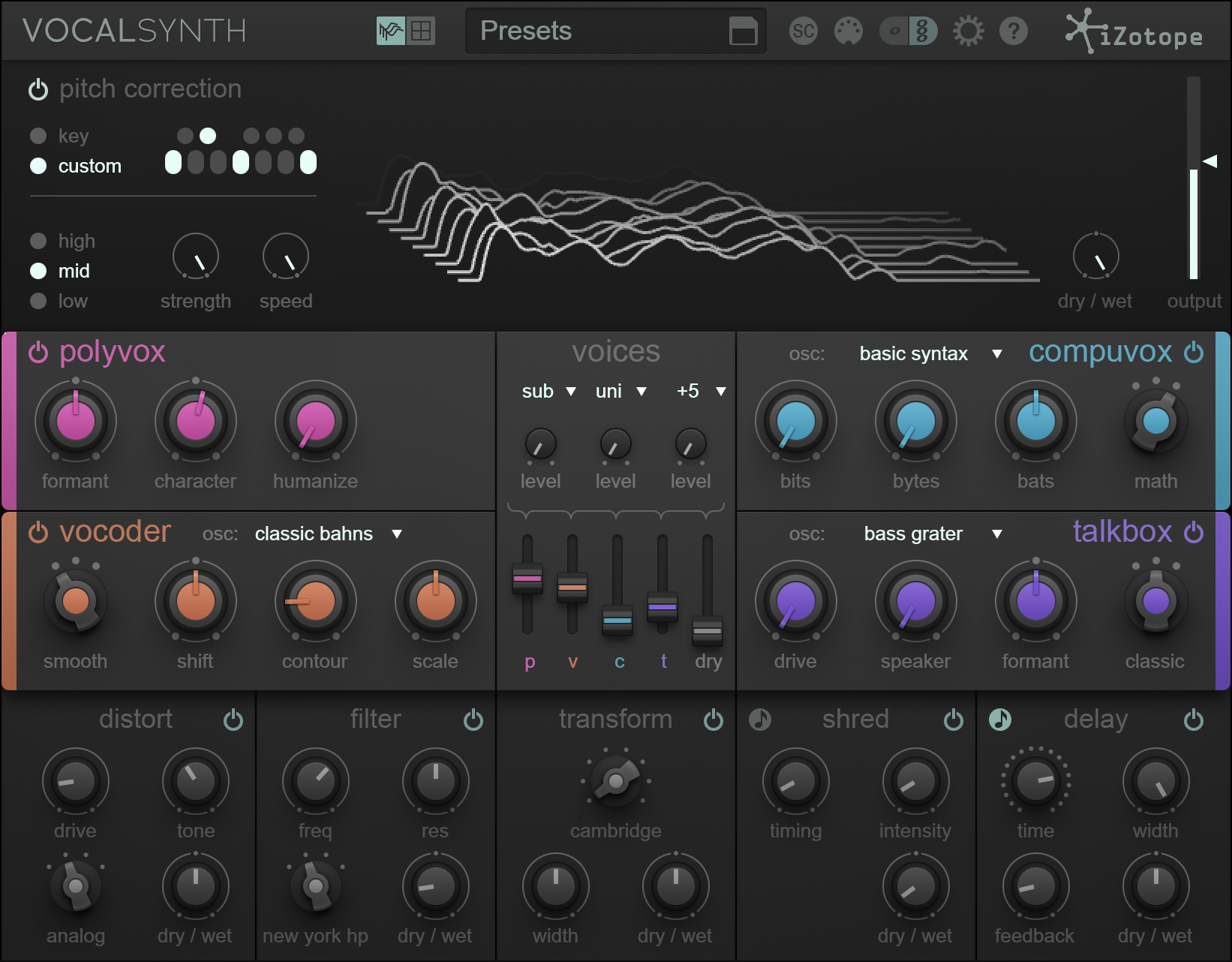 For Press: iZotope VocalSynth