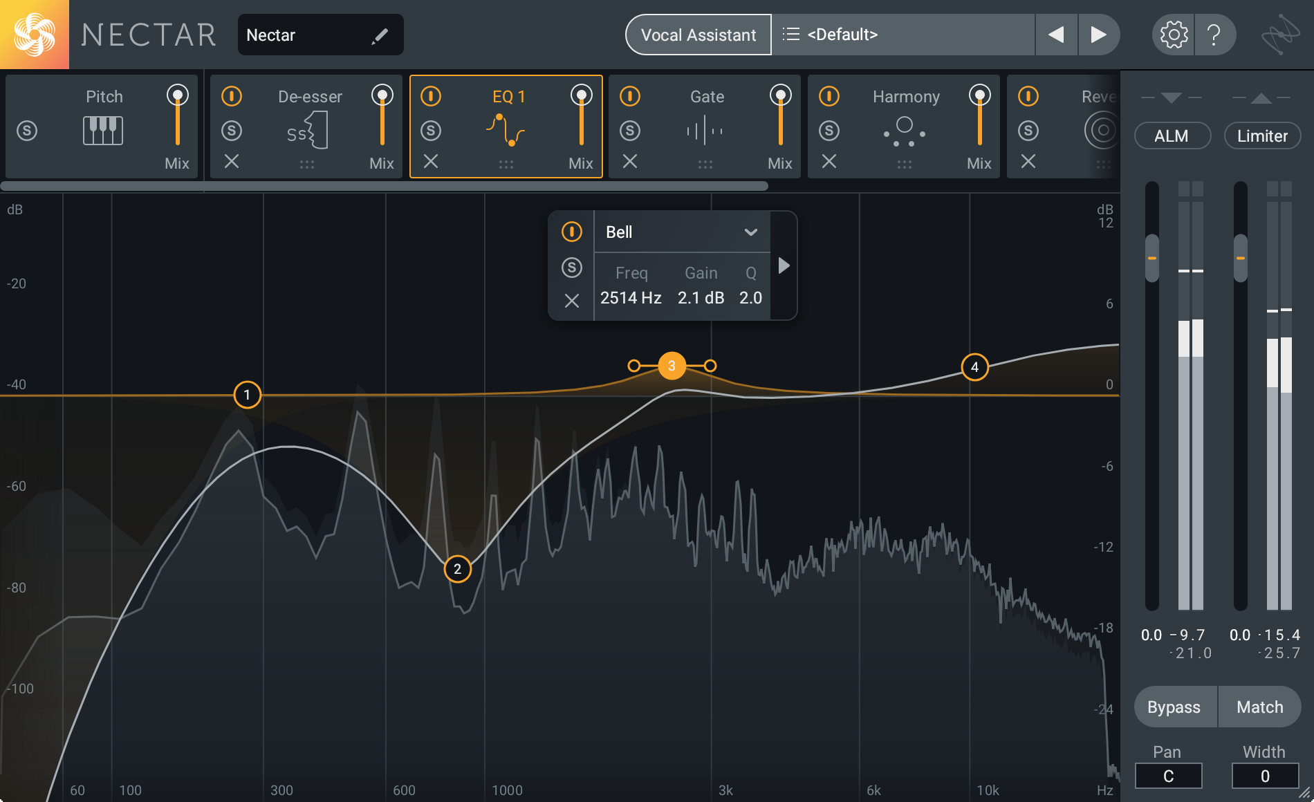 iZotope Nectar 3 | Vocals, in the mix