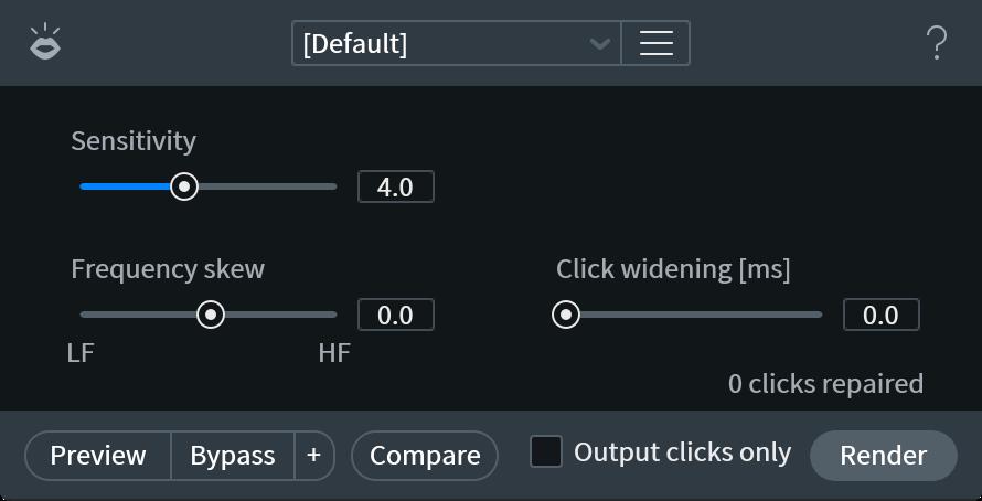 Mouth De-click Plug-in | Remove Mouth Clicks with iZotope RX 7