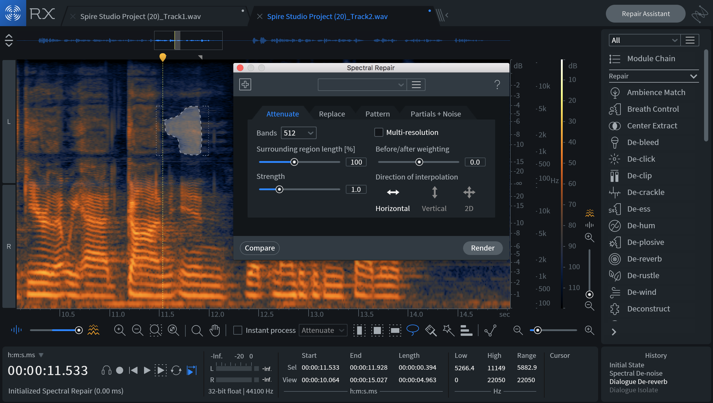 iZotope RX 7 Audio Repair for Post Production