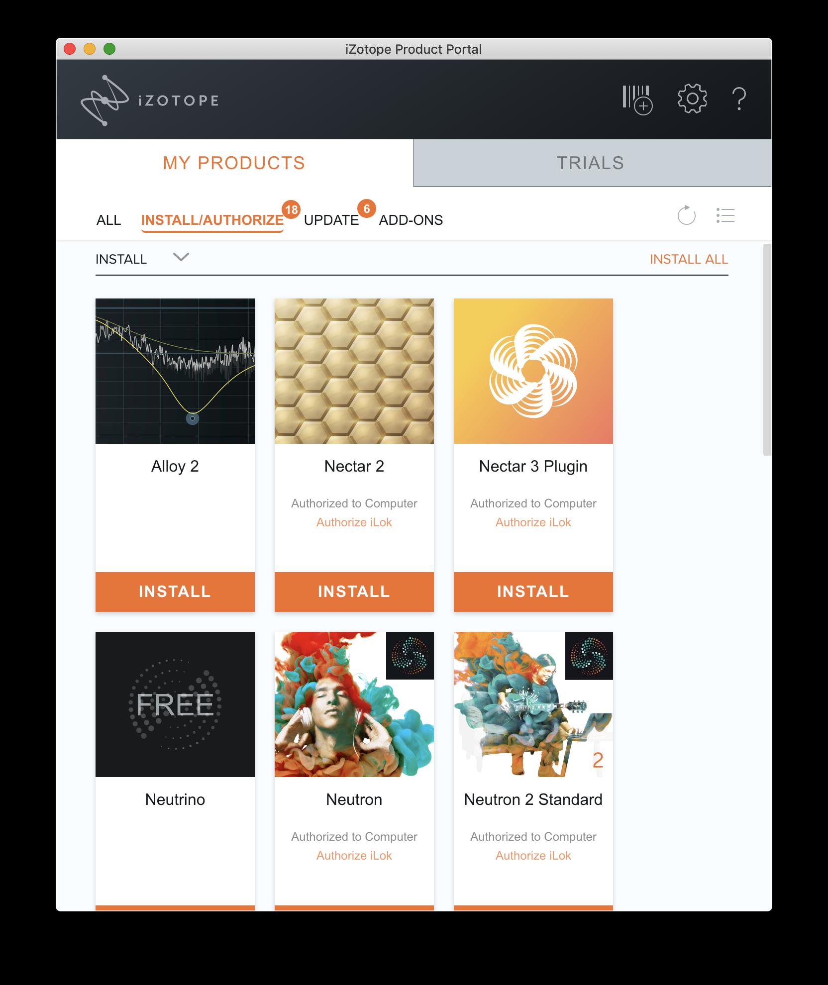iZotope Product Portal   Audio Plug-ins Installation