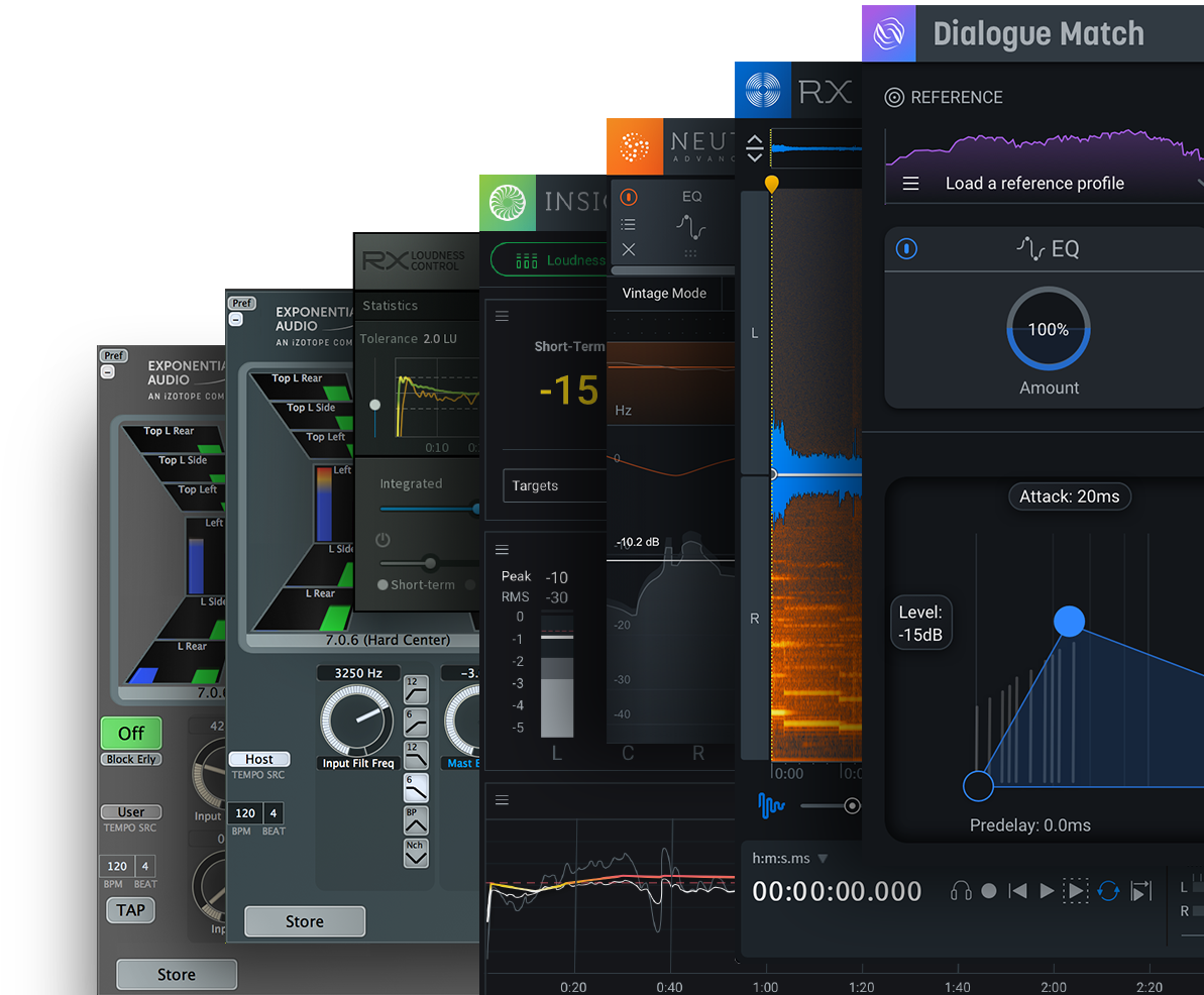 RX post production suite 4 Plugin interface