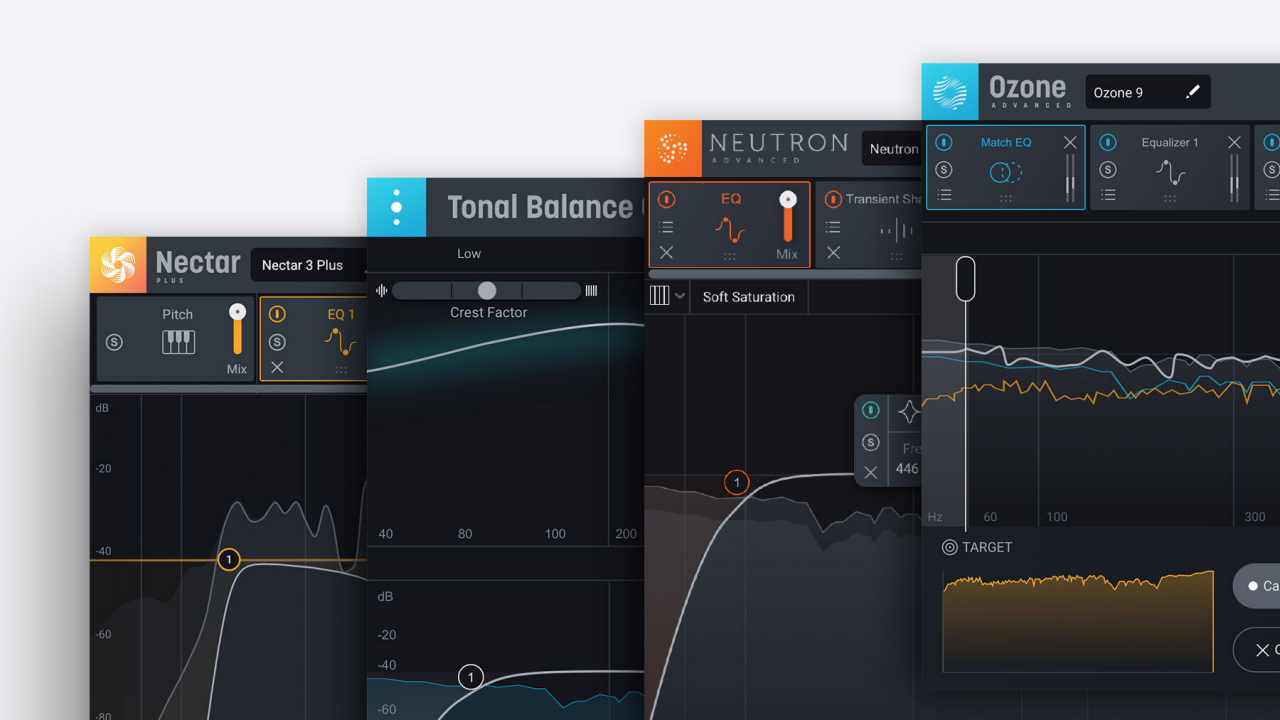 Tonal Balance Bundle plugin user interface