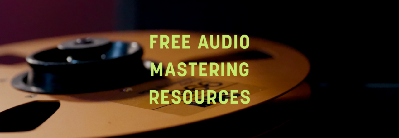 Free audio mastering resources