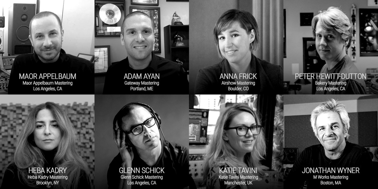 Thanks to these amazing mastering engineers for sharing their insights for this article!