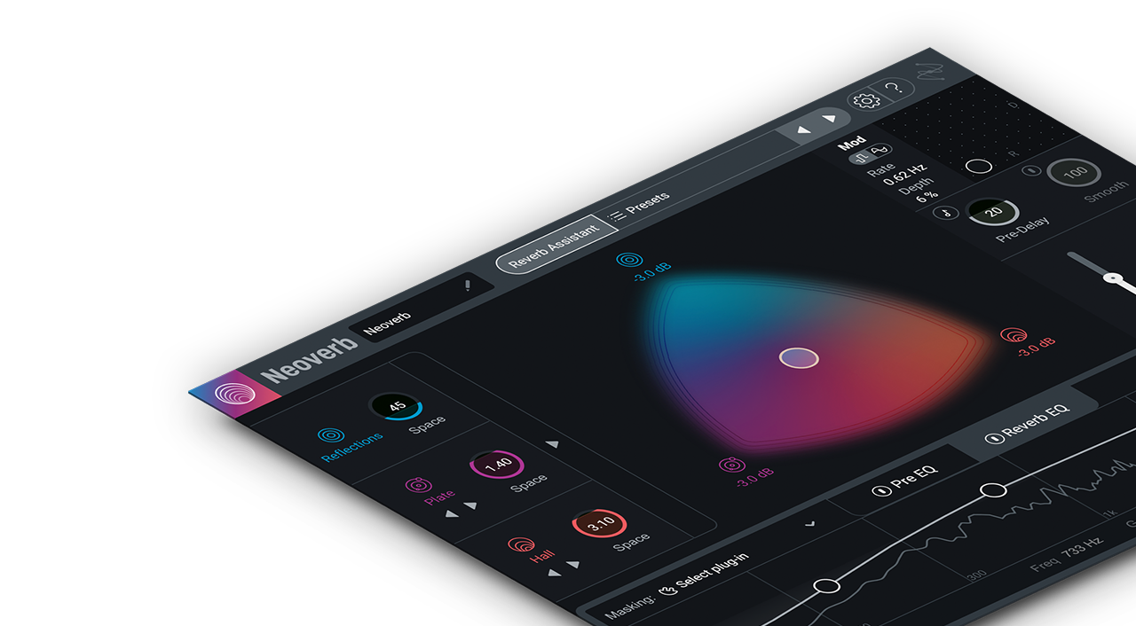 Neoverb: intelligent, creative reverb effects