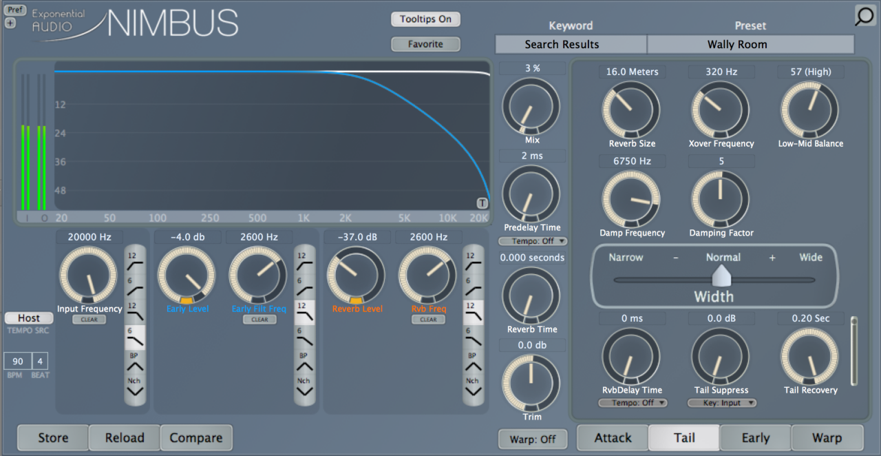 NIMBUS reverb at end of automation