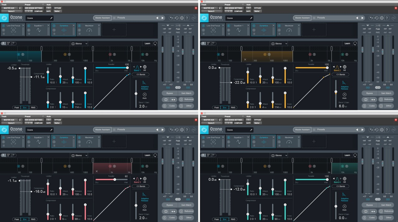 Master Assistant's suggested mastering chain